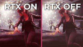 Control – RTX ON vs. RTX OFF 1080P Graphics Comparison | Max Graphics [sponsored]