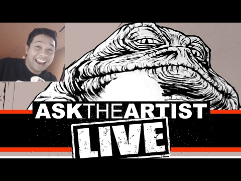 ASK THE ARTIST LIVE! - STOLEN ARTWORK AND LOTS OF SHARPIES!!!