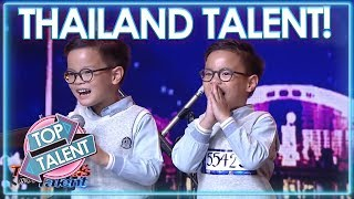 TALENTED KIDS On Thailand's Got Talent 2018! | Top Talent