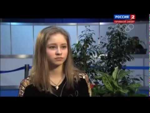 видео: Юлия Липницкая (Julia Lipnitskaya)  Останавливаться вообще нельзя