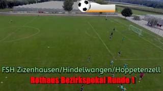 Bodensee Luftaufnahmen- Wahlwies Fussballspiel