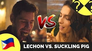 Filipino LECHON vs. SUCKLING PIG in Bali