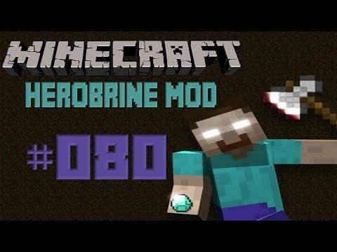 [SPEZIAL] Let's Play Minecraft [Herobrine Mod] Folge #080 - Ich bin ein Maulwurf !