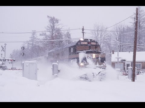 HD Pan Am diesel runby's at Plaistow,NH Jan-Mar 2014