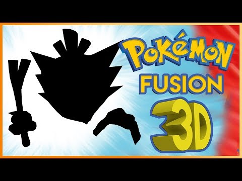 Where'd the Leek come from? - Pokemon Fusions in 3D! Episode 15