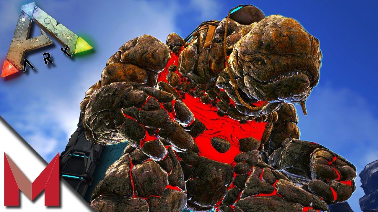 ark survival evolved how to kill rock elemental