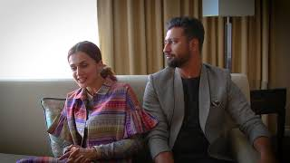 Taapsee Pannu amp Vicky Kaushal   39Manmarziyaan39 Husband Material Interview 2018