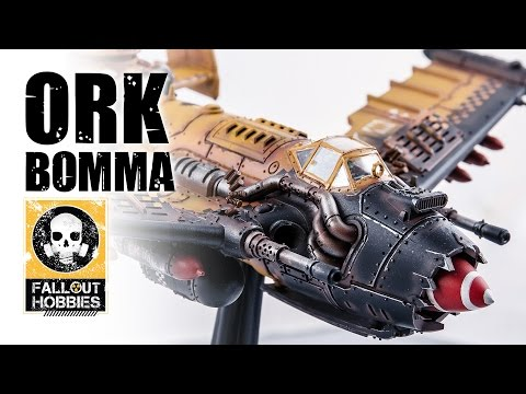 Fallout Hobbies Ork Bomma Tutorial