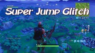 Fortnite Super Jump Glitch Por encima del mapa