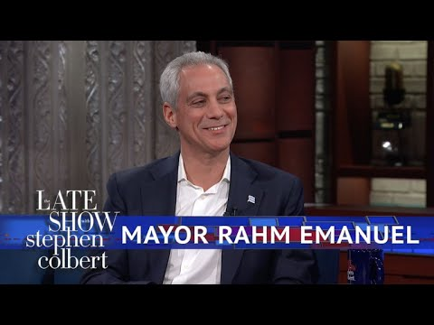 Download Youtube: Mayor Rahm Emanuel: Chicago Is A 'Trump-Free Zone'