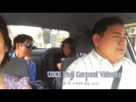 Egypt  + J Anne Vlog #031 Uber pogi car pool videoke
