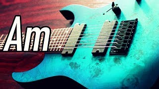 Fast Hard Rock Backing Track A Minor