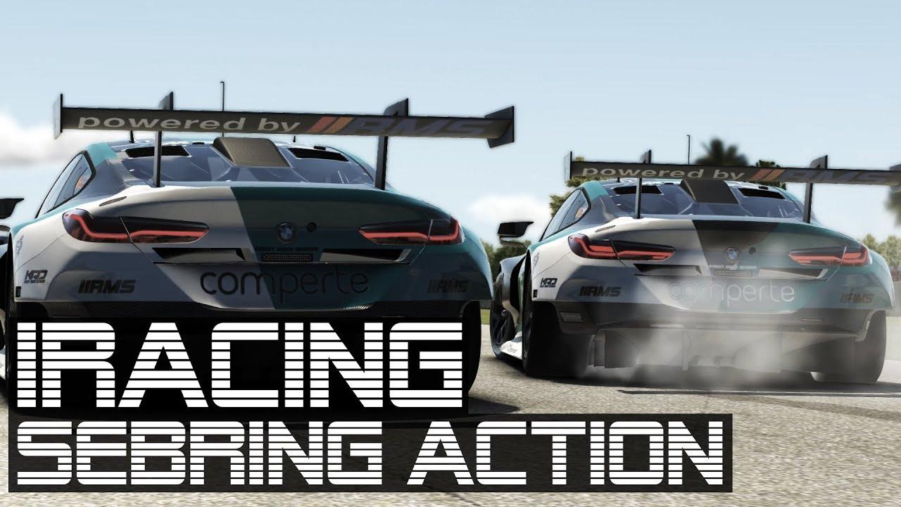 Sebring Action!   iRacing   Mach-1 eSports