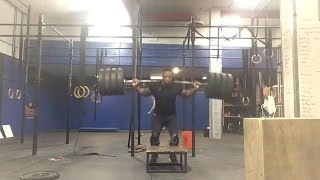 405Lb box jump | Are You Not Entertained | Highlight of crazy lifts