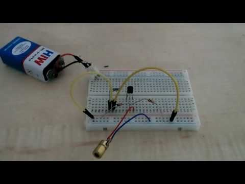 Simple Laser Diode Driver ( Dirt Cheap! )