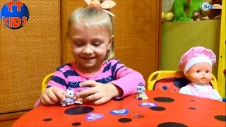 ✔ Кукла Ненуко и Ярослава открывают сюрпризы Чи Чи Лав — игрушки / Doll Nenuco with Chi Chi Love ✔