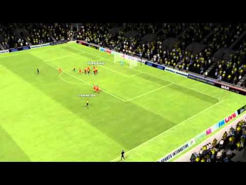 AEK vs Olympiakos - Leonardo Goal 69th minute