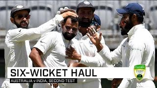 Shami mops up in second innings