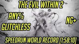 The Evil Within 2 Any% NG+ Glitchless Speedrun World Record [1:58:10]