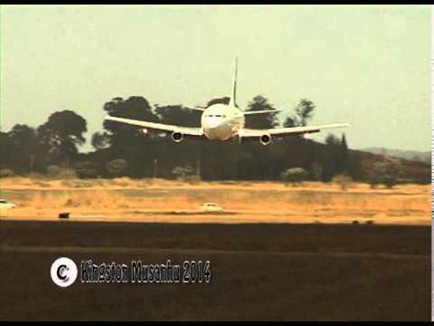 Boeing 737 low pass,  Amazing , WOW, Air Zimbabwe