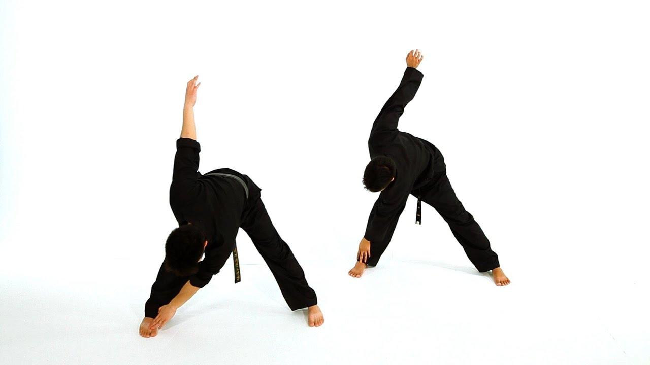 How to Do Basic Standing Stretches | Taekwondo Training