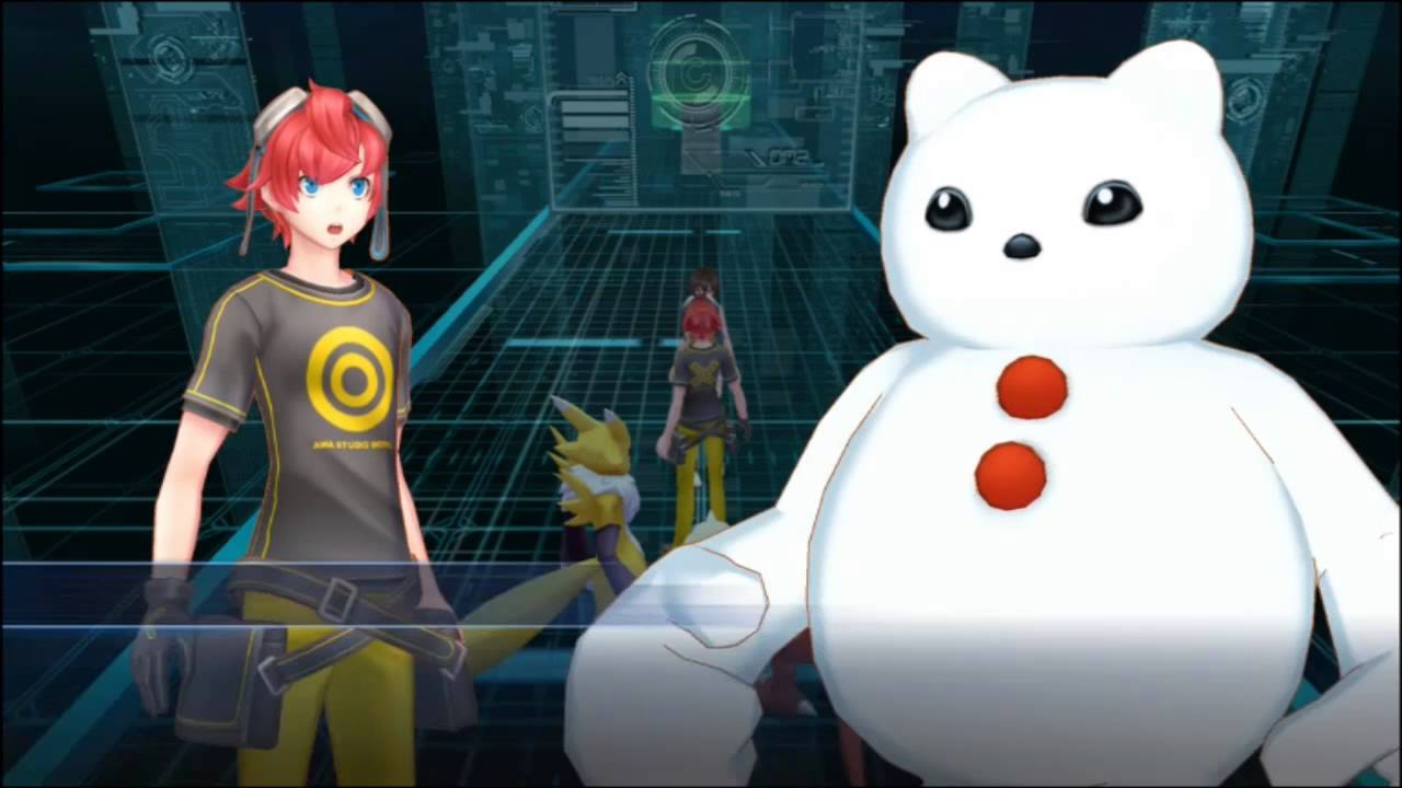 The Case Of The Porn Frozen In The Wall Lets Play Digimon Story Cyber Sleuth Episode 8 Youtube
