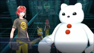 The Case of tнe Porn Frozen in the Wall - Let's Play Digimon Story Cyber Sleuth episode 8