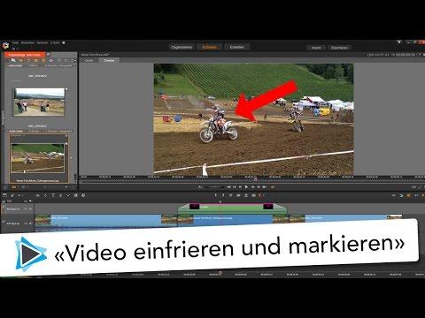 Video einfrieren und Bereich markieren mit Pinnacle Studio 20 Deutsch Video Tutorial