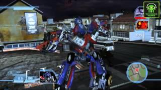 Transformers The Game - PC les´t Play - Parte #4 - [ESP][HD][TPC] - Rumbo al Sector 7