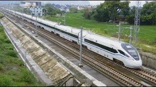 CRH1A-A+CRH1A-A, China High Speed train 中國高速列車 (D2812广州往贵阳, Guangzhou to Guiyang Train)