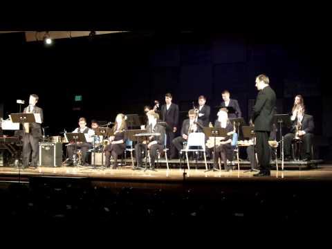 Hockinson High School Jazz Band concert 2014