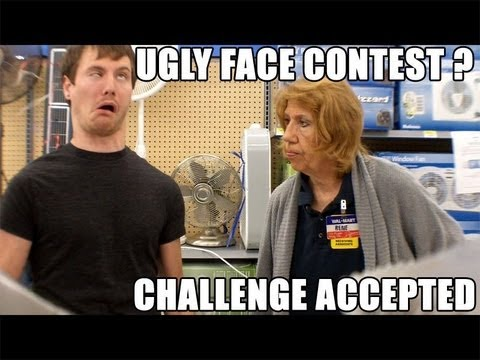 Ugly Face Contest Winner (Public Prank) - YouTube