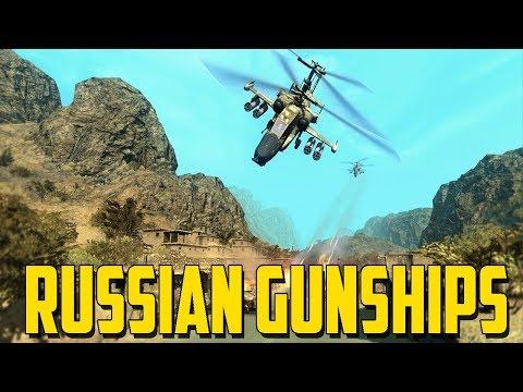 Heliborne - Russian Gunships