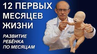 видео Развитие новорожденного ребенка