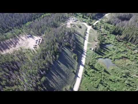 North Fork Campground Centennial Wyoming 1 6/18/2016