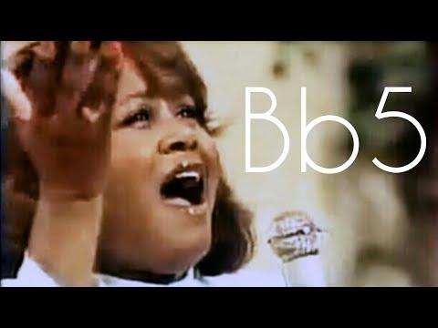 Cindy Birdsong - My Tribute (Vocal Showcase) [C#4-Bb5]