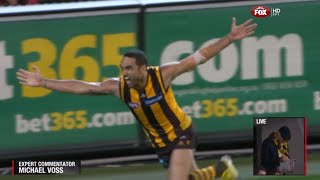 AFL 2013: 1st Preliminary Final - Hawthorn highlights vs. Geelong