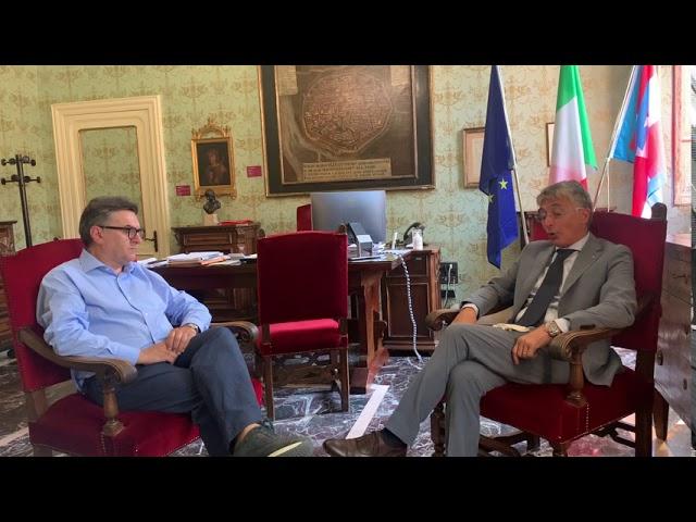 Intervista a Carlo Bo, sindaco di Alba, in occasione della festa patronale di San Lorenzo