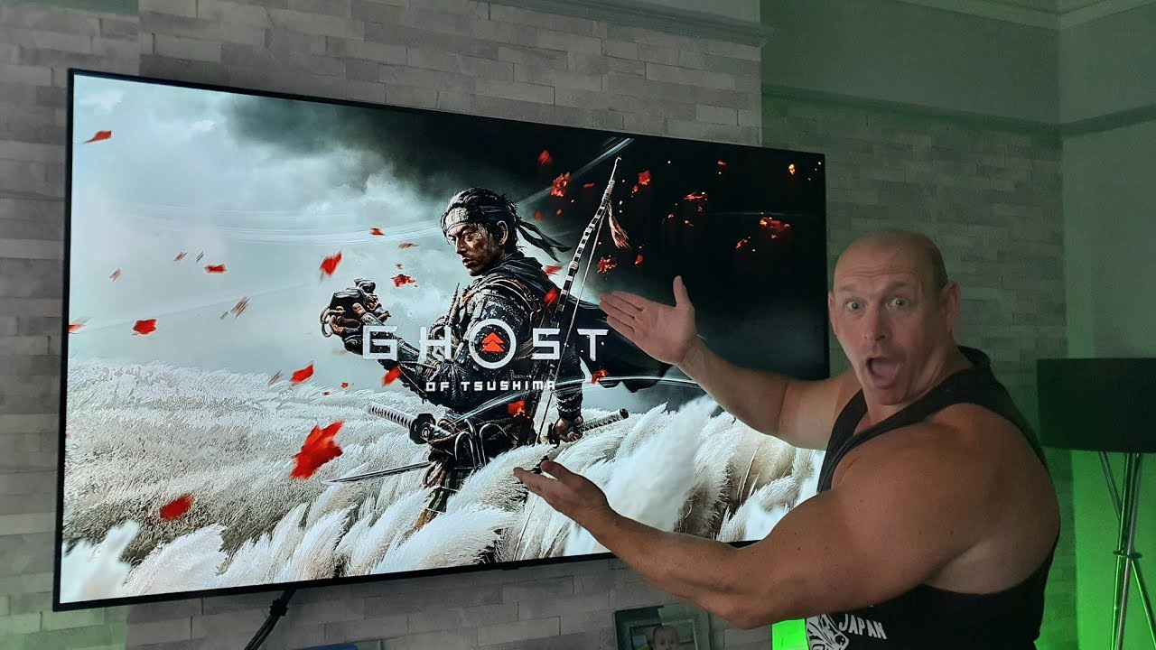 Ghosts of Tsushima on LG CX OLED looks JAW DROPPING !