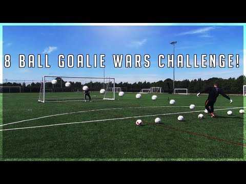8 Ball Goalie Wars with Hashtag United's Scotty P!