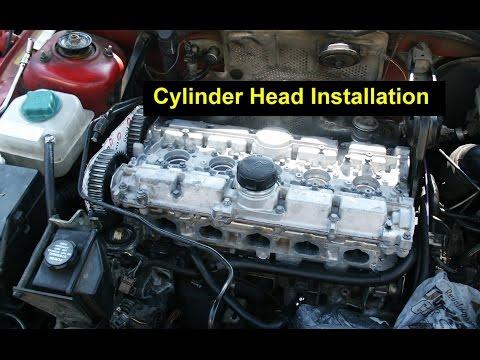 Volvo 2.5l cylinder head/valve cover installation   Doovi