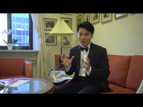 Ray Chen: Nobel Prize Concert 2012, behind the scenes.