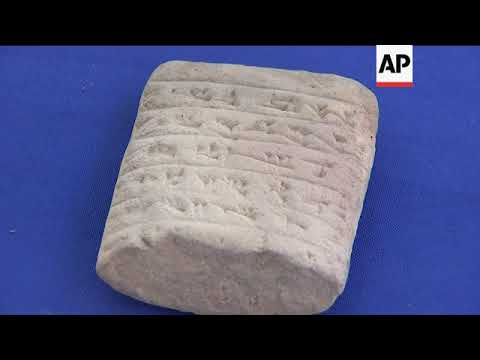 U.S. Returns Seized Artifacts to Iraq