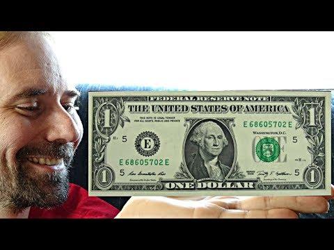 US One Dollar Bill Series 2009