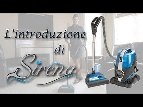 aspirapolvere ad acqua sirena youtube. Black Bedroom Furniture Sets. Home Design Ideas