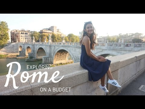 Rome, Italy on a budget | Rome travel vlog