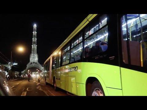 Un recorrido por el Transmetro en la ciudad de Guatemala