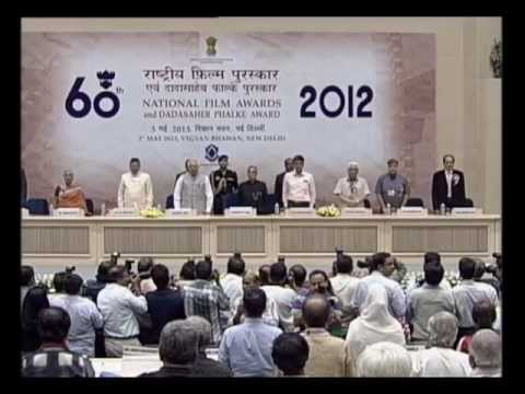 Presentation Ceremony: 60th National Film Awards - 2012 (Par