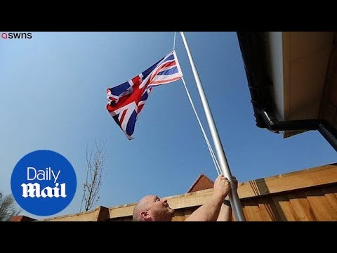 Gulf War Veteran Has Been Ordered To Take Down Union Jack Flag