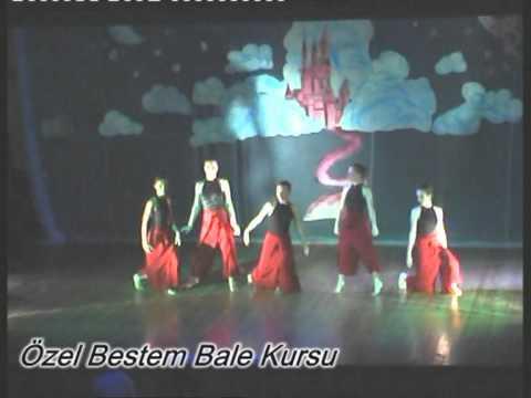 MODERN DANS -İzmir Karşıyaka T.c.Meb.Özel Bestem Bale Kursu Resital 2010